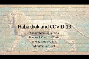 Habakkuk and COVID19