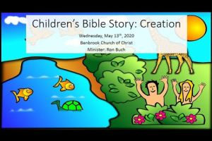Children's Bible Hour  Creation