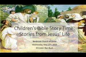 Children's Story Time   Jesus Birth and Ministry