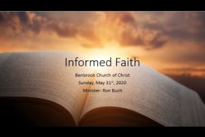 Informed Faith