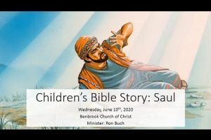 Childrens Bible Story Saul