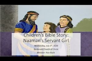 Children's Bible Story: The Little Maid