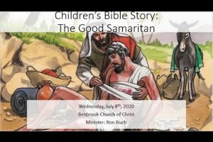 Children's Bible Story: The Good Samaritan