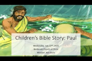 Children's Bible Story: Paul