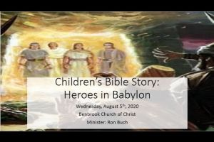 Childrens Bible Story Heroes of Babylon