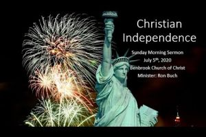 Christian Independence