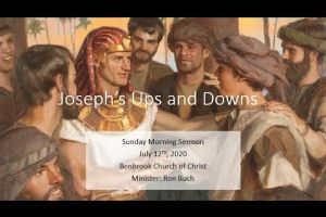 Joseph's Ups and Downs