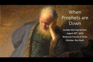 When Prophets Are Down